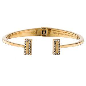 NEW Kate Spade Gold Raising The Bar Bracelet